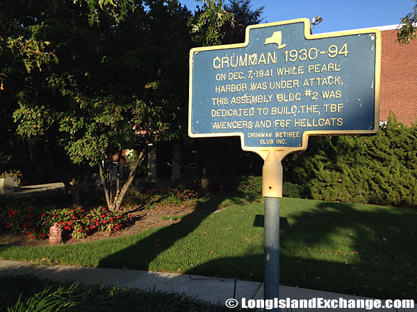 Historical Marker Grumman