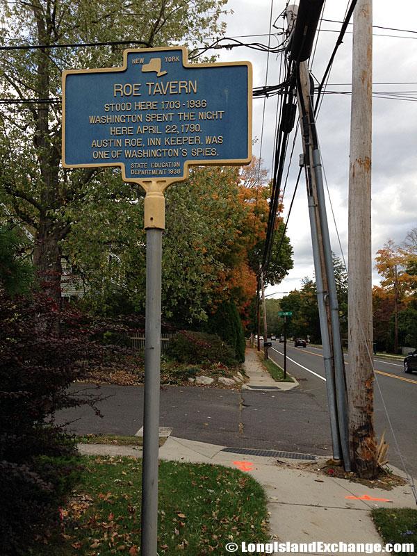 Roe Tavern Historical Marker