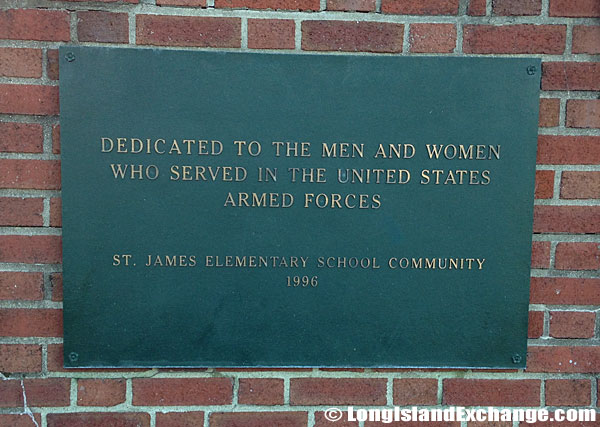 Elementary School Memorial Plaque