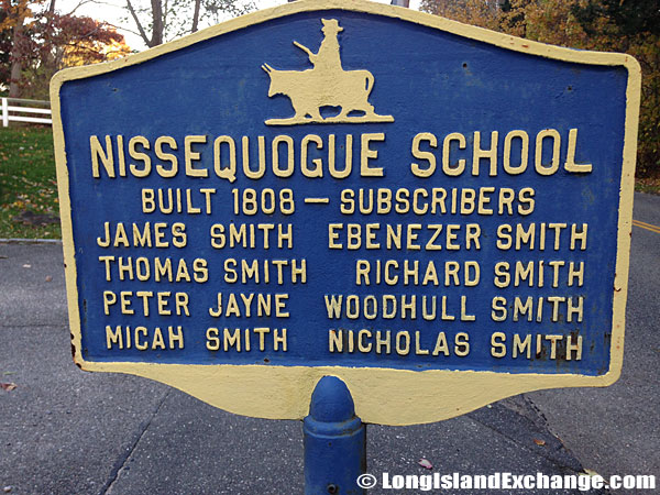 Historical Marker Nissequogue