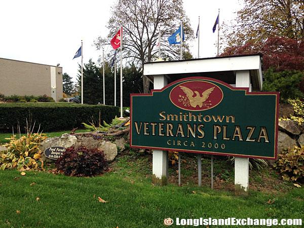 Smithtown Veterans Plaza.
