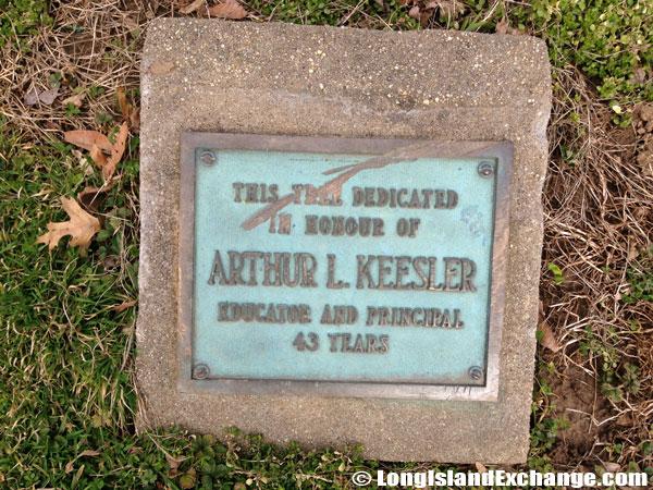 Arthur L. Keesler Memorial