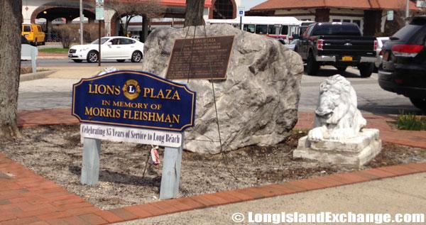 Long Beach Lions Club honors Morris Fleishman