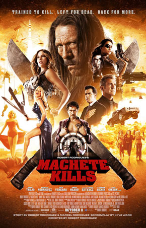 At The Movies: Machete Kills (2013)