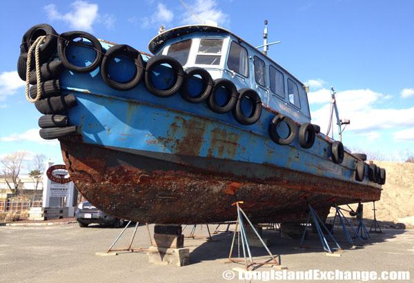 Old Boat Brewer Yacht Yard