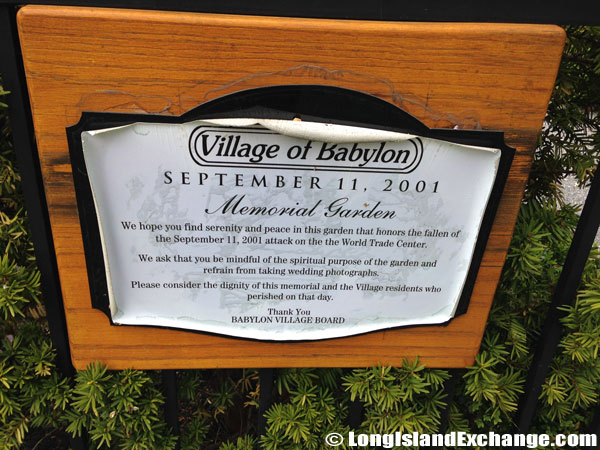 September 11 Garden Memorial