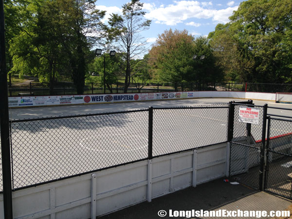 Hockey Rink Hall Pond Park