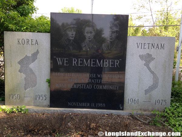 Hall Pond Park War Memorial