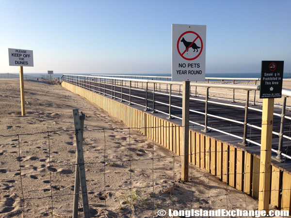 Stay Off Dunes, No Pets, No Smoking