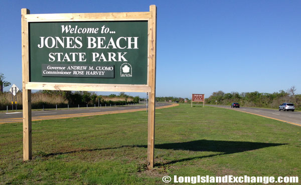 Jones Beach State Park Welcome Sign