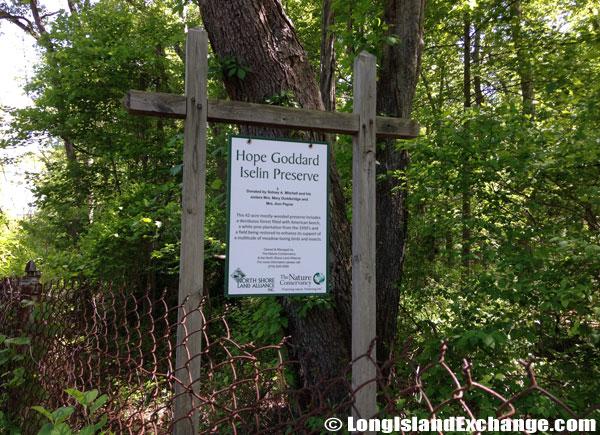 Hope Goddard Iselin Preserve
