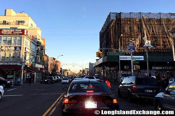Steinway Street in Astoria