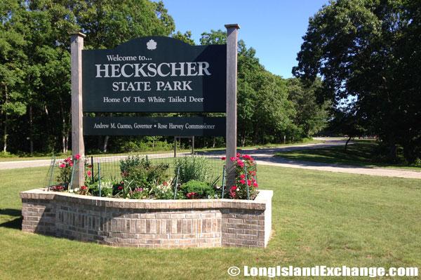 Heckscher State Park Sign