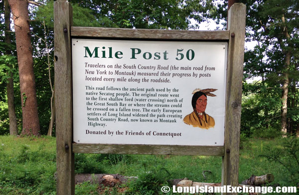 Mile Post 50 Secatog