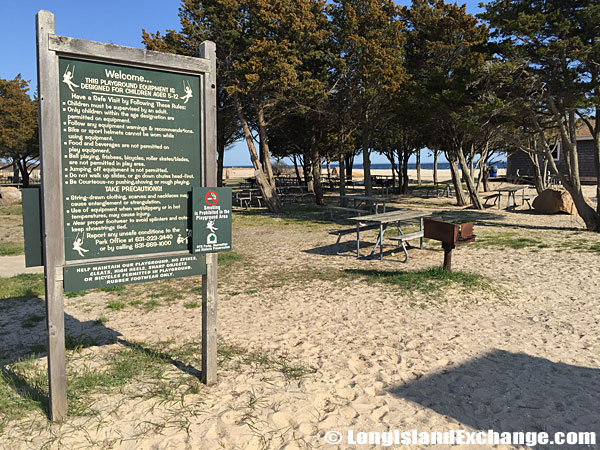 Orient Beach State Park Playground