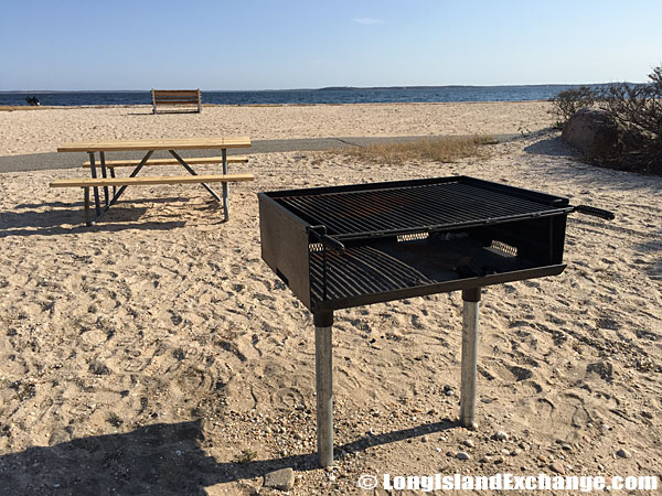Orient Beach State Park Barbecues