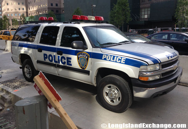 NYPD Police SUV