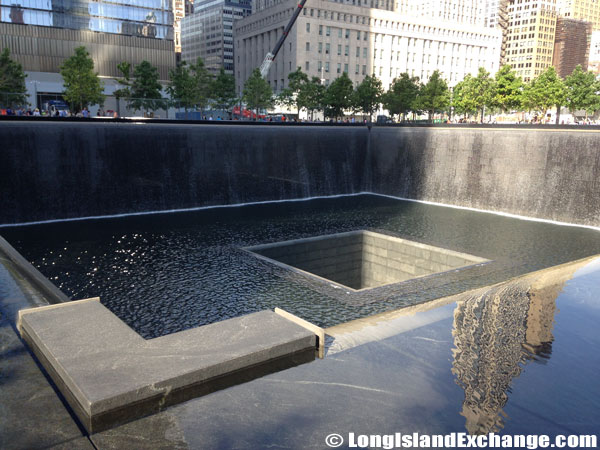 September 11 Memorial Waterfalls