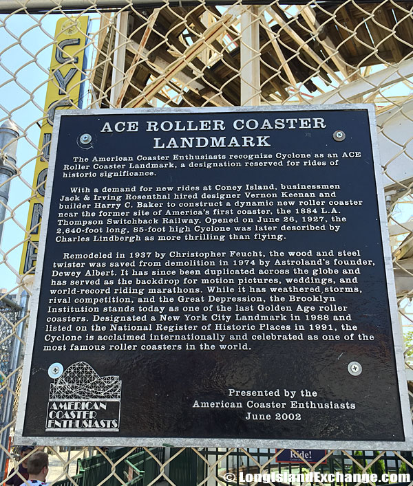ACE Cyclone Roller Coaster