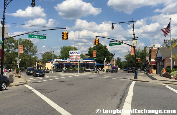 Myrtle Avenue and Cooper Avenue
