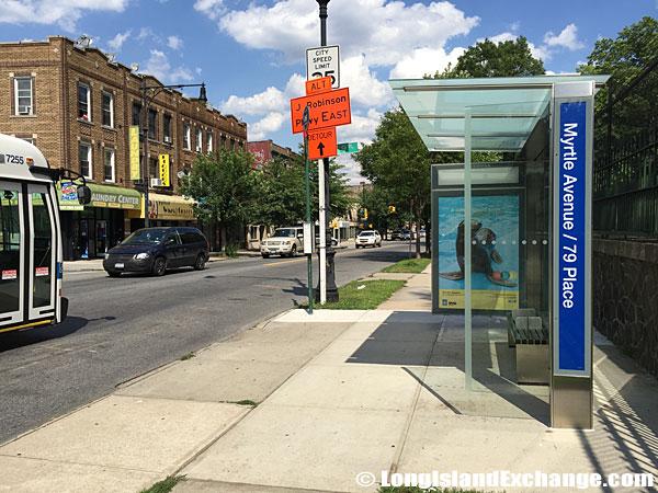 Bus Stop, Glendale