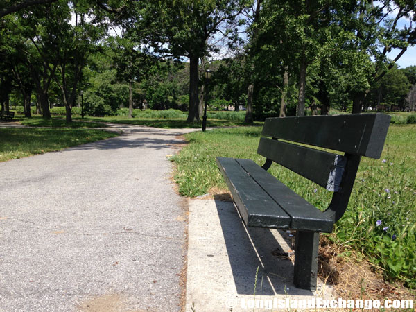 Brookville Park Bench