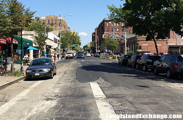 37th street in Jackson Heights