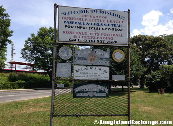 Welcome to Rosedale Sign
