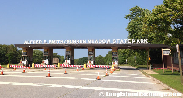 The Toll Plaza At Alfred E Smith Sunken Meadow State Park