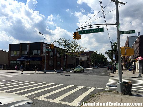 Ditmars Boulevard and Steinway Street