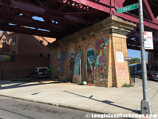 Hell Gate Bridge Mural