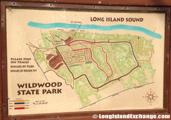 Map for Wildwood State Park