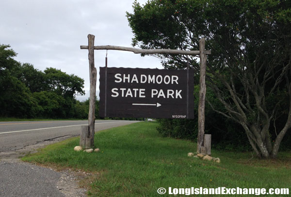 Shadmoor State Park Entrance