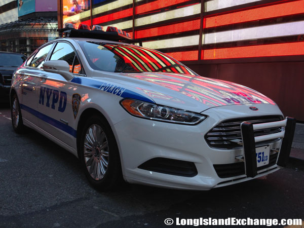 NYPD Police Vehicle