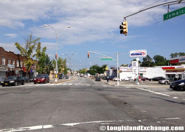 Jamaica Avenue and Francis Lewis Boulevard