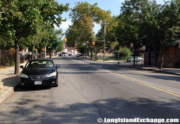Side Street Jamaica Queens