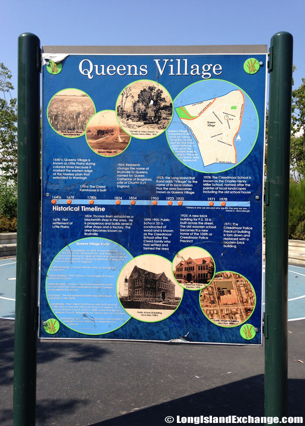 Queens Village Historical Timeline