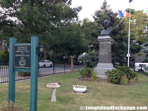 Monument of Conrad Poppenhusen