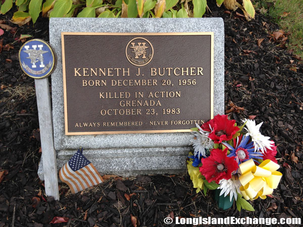 Kenneth J Butcher Plaque