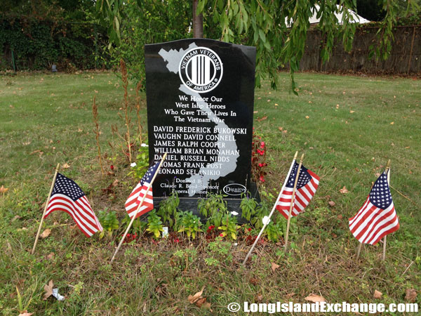West Islip Vietnam War Stone