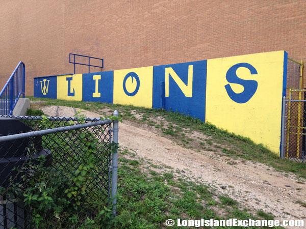 High School Lions Mural