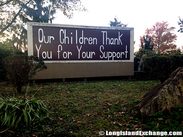 Childrens Sign Outside Powells Lane Elementary School