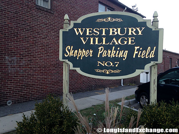 Westbury Village Shopper Parking Field