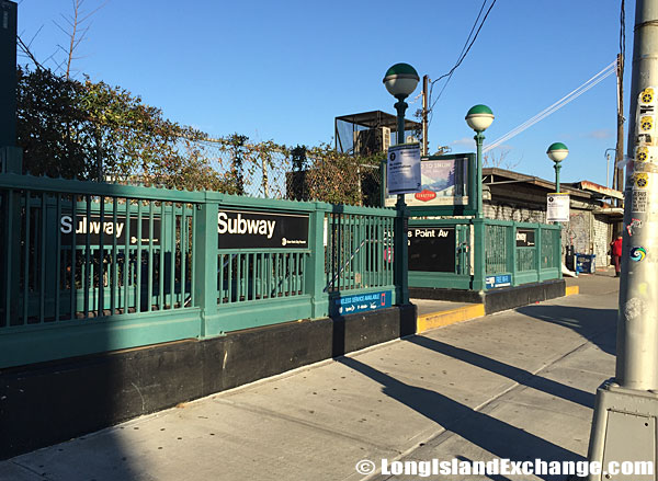 Hunters Point Avenue Subway