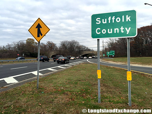 Suffolk County Welcome Sign