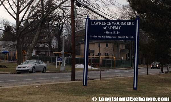 Lawrence Woodmere Academy Sign