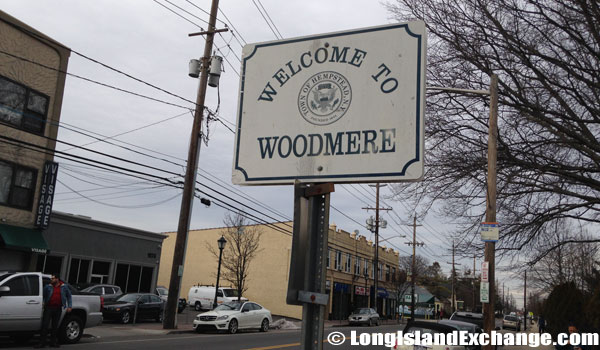Woodmere Welcome Sign