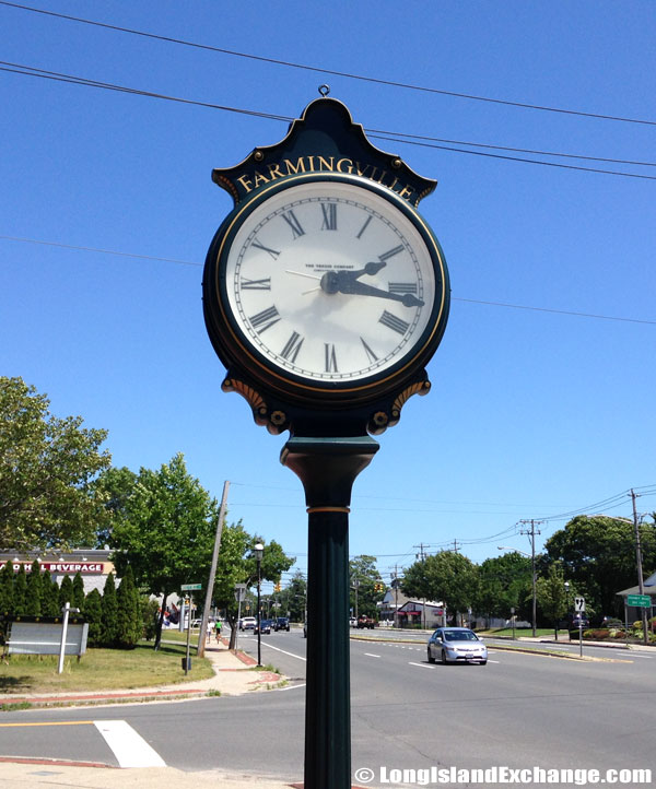 Two Face Town Clock