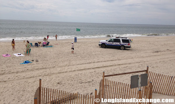 Suffolk County Police SUV