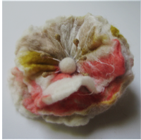 Craftworks: Felted Flowers Workshop @ Gallery North | Miller Place | New York | United States